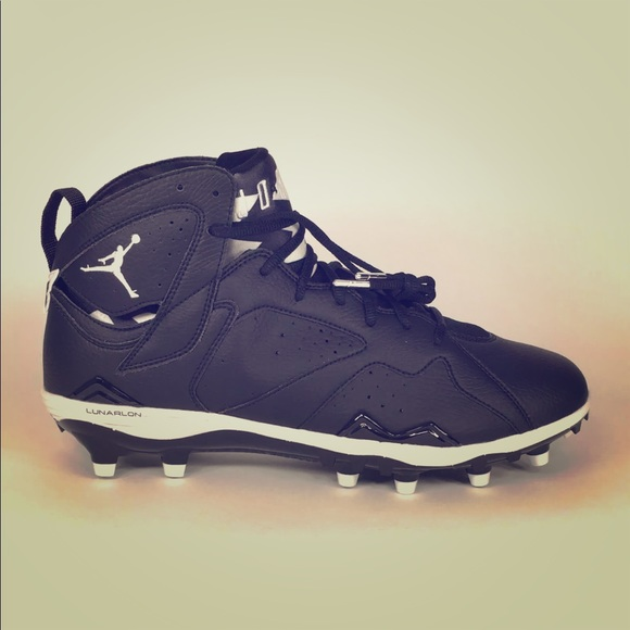 4b934895bf99 ... coupon code for air jordan 7 td football cleats men black white 709fd  f64f6